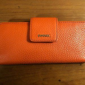 Fossil Wallet Women Used